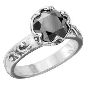 Silpada .925 Burnished Beauty Ring